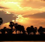 Free Photo - African sunset on river