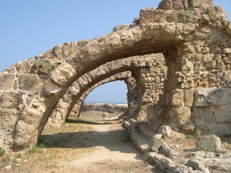 Roman ruins at salamis, north cyprus - Free Stock Photo