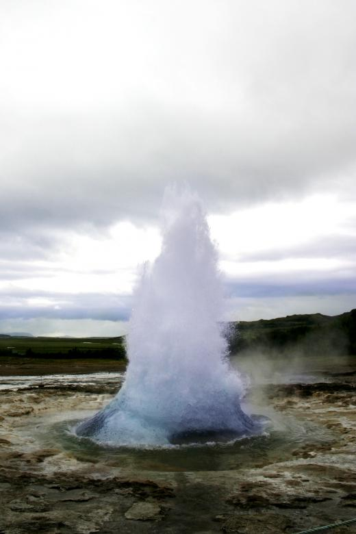 Free stock image of Icelandic Geyser created by Bjorgvin