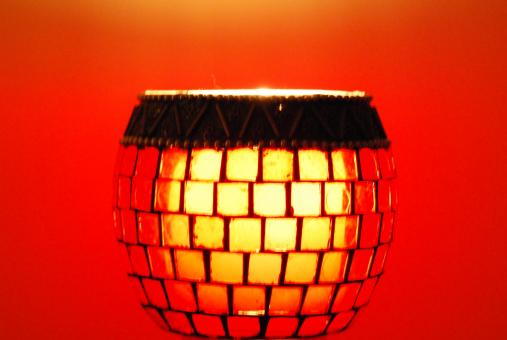 Red lamp - Free Stock Photo