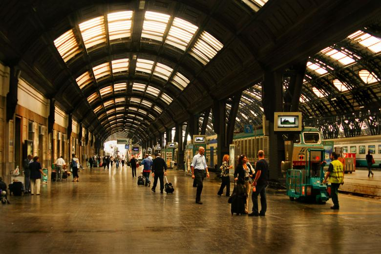 Free Stock Photo of Station centralo Milan Created by SimpleLine