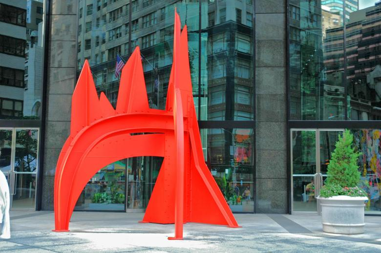 Free Stock Photo of Red sculpture Created by marthacecil