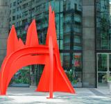 Free Photo - Red sculpture