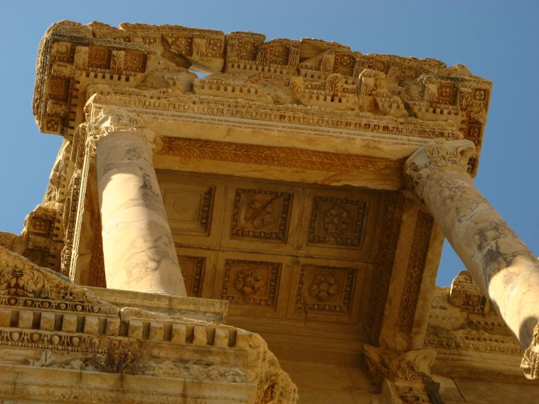 Library in Ephesus, Turkey Free Photo