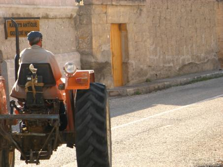Man driving tractor, Turkey - Free Stock Photo