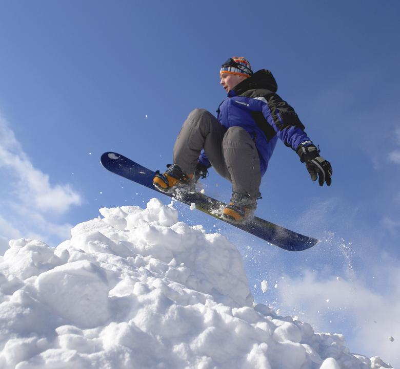 Free Stock Photo of Snowboarding Created by Dmitry