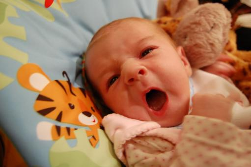 Screaming baby - Free Stock Photo