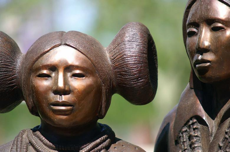 Free Stock Photo of Inca bronze statues Created by to0w1r3d