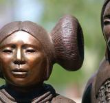 Free Photo - Inca bronze statues