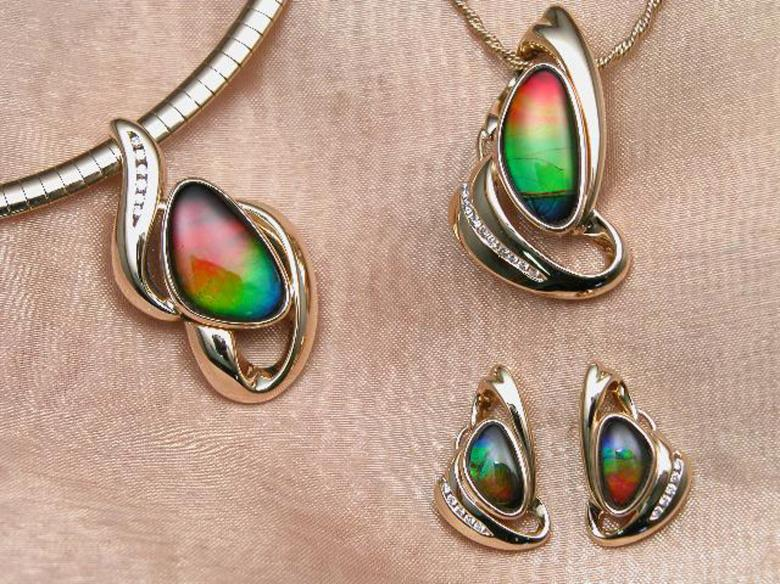 Free Stock Photo of Ammolite Jewellery Created by Suvro Khan