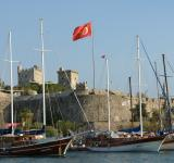 Free Photo - Bodrum castle and marina