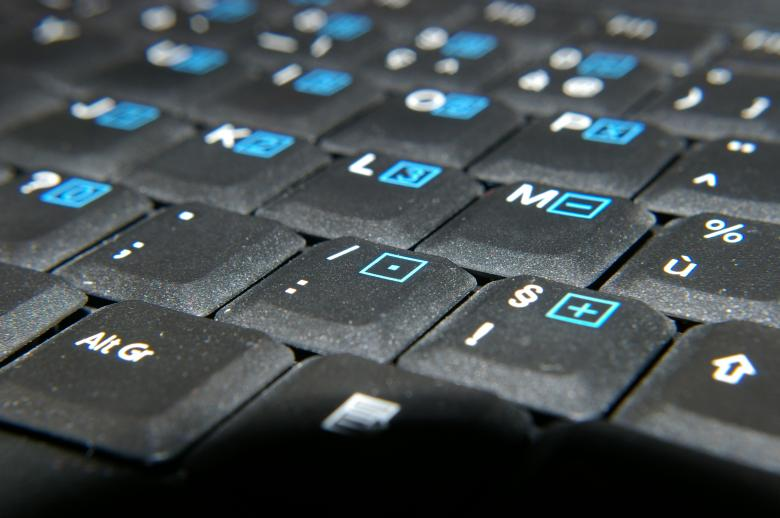 Free Stock Photo of Black keyboard Created by frhuynh