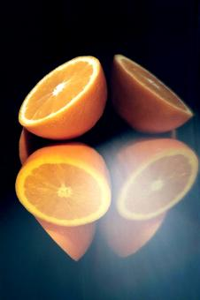 The four oranges - Free Stock Photo
