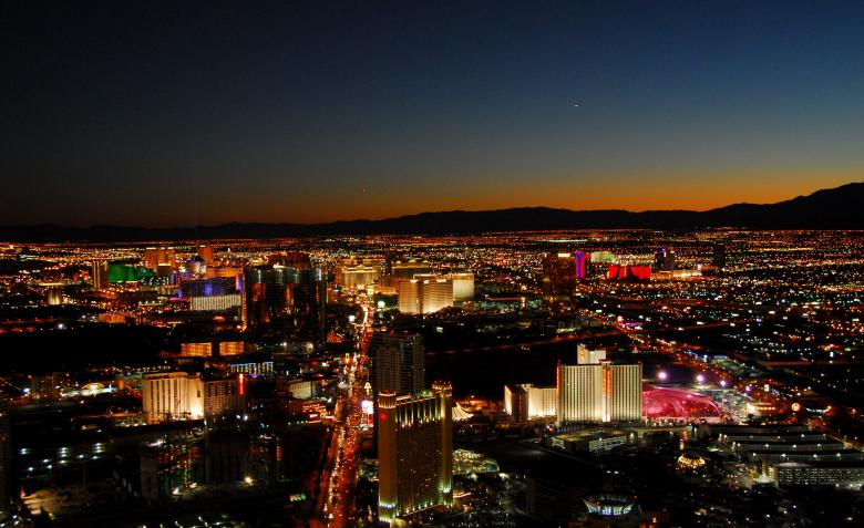 Free Stock Photo of Las Vegas cityscape Created by Ajith