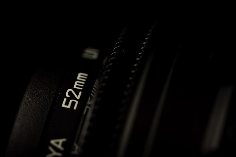 52mm lens closeup Free Photo