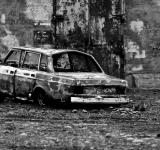 Free Photo - Wrecked car