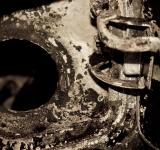 Free Photo - Rusted piece of metal