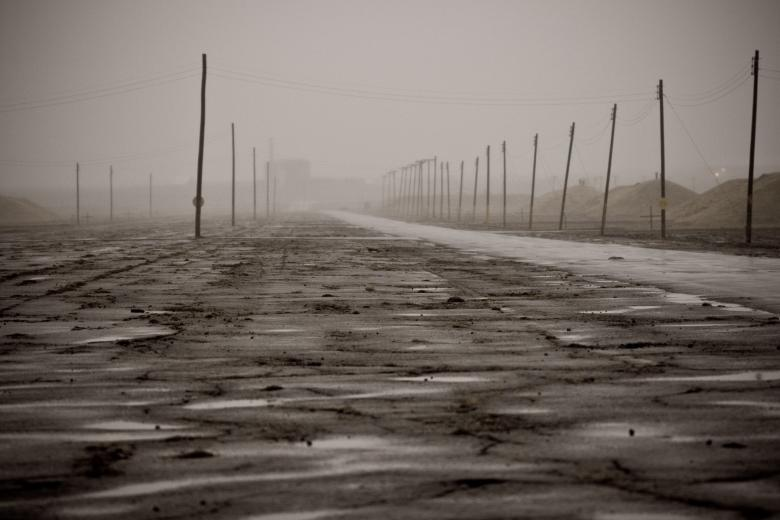 Old airstrip - Free Spooky Stock Photos