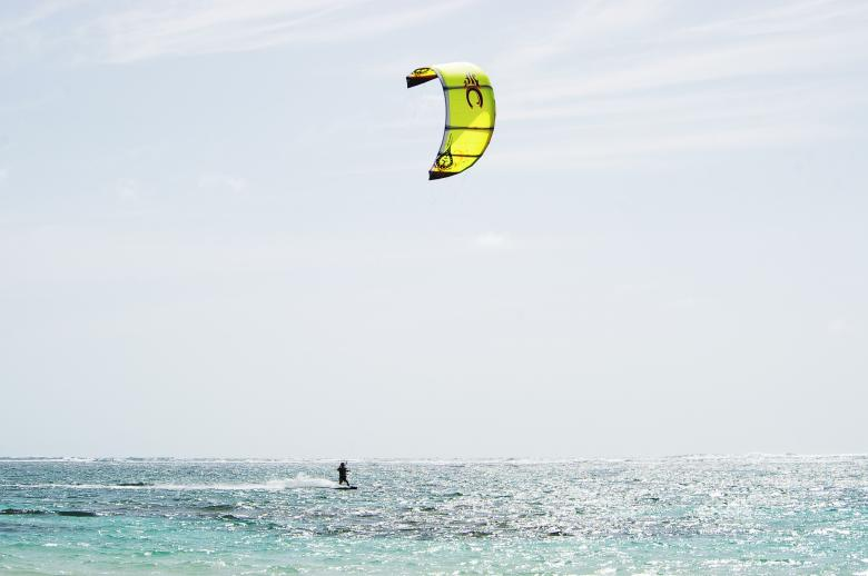 Free Stock Photo of Kite boarding Created by frhuynh