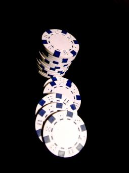 Poker chips - Free Stock Photo