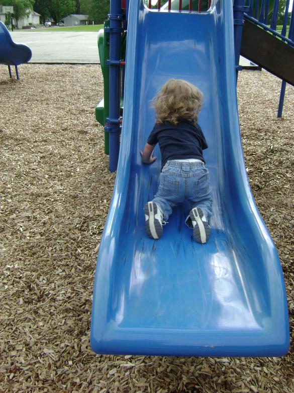Free Stock Photo of Learning to slide by our self Created by Lokigrl616