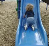 Free Photo - Learning to slide by our self