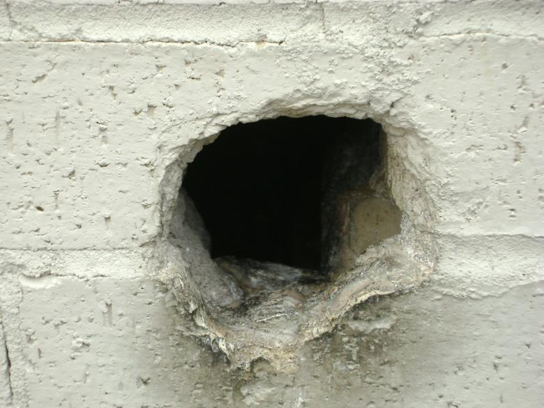 Free Stock Photo of Hole in the Wall Created by Lokigrl616