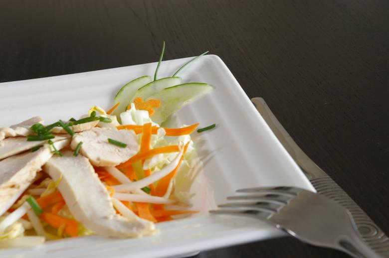 Free Stock Photo of Chicken salad Created by frhuynh