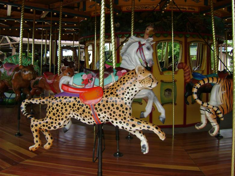Free Stock Photo of Cougar Carousel Created by Lokigrl616