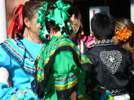 Traditional Mexican Baile Folklorico - Free Stock Photo