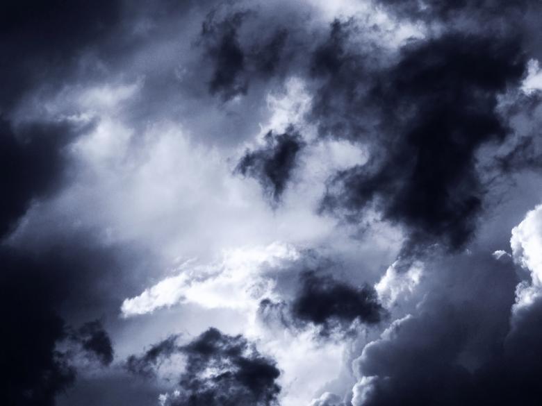 Dark clouds Free Stock Photo