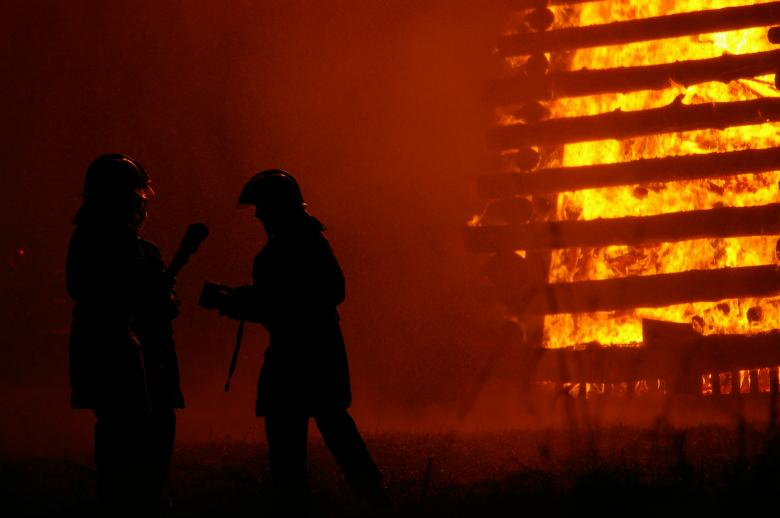 Free Stock Photo of Firemen at work Created by frhuynh