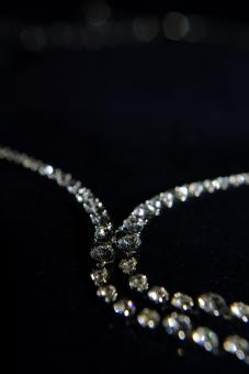 Crystal necklace - Free Stock Photo