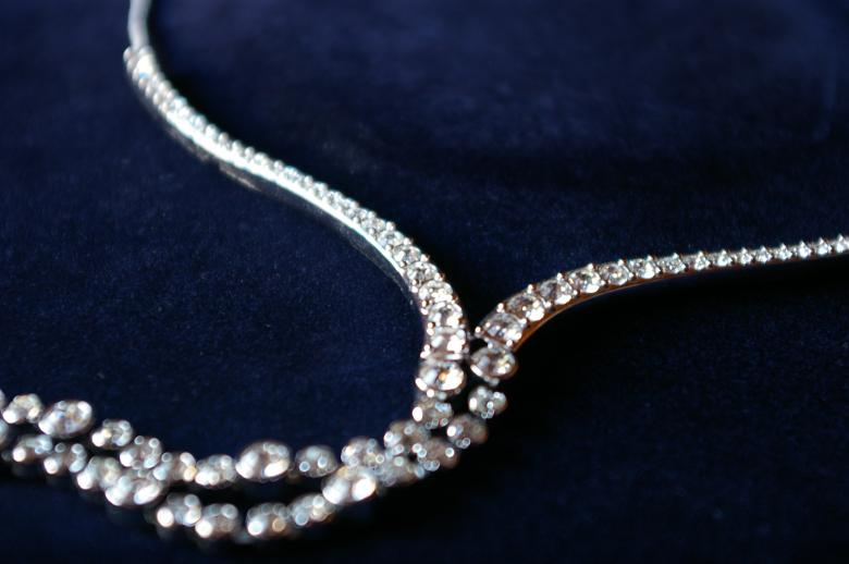 Free Stock Photo of Crystal necklace Created by frhuynh