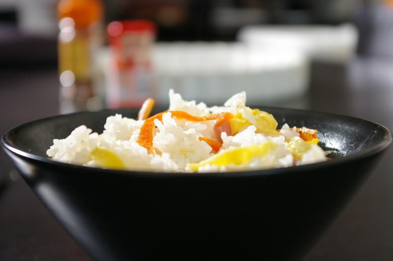 Free Stock Photo of Asian rice cantonese Created by frhuynh