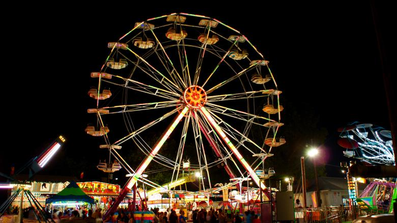 Free Stock Photo of Ferris Wheel Created by Jackie