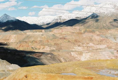 Colorful copper mine - Free Stock Photo