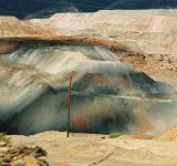 Free Photo - Colorful copper mine