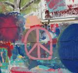 Free Photo - Painted Peace Sign