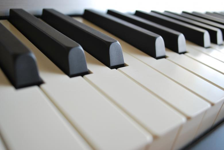 Free Stock Photo of Piano Keys Created by kkDonut