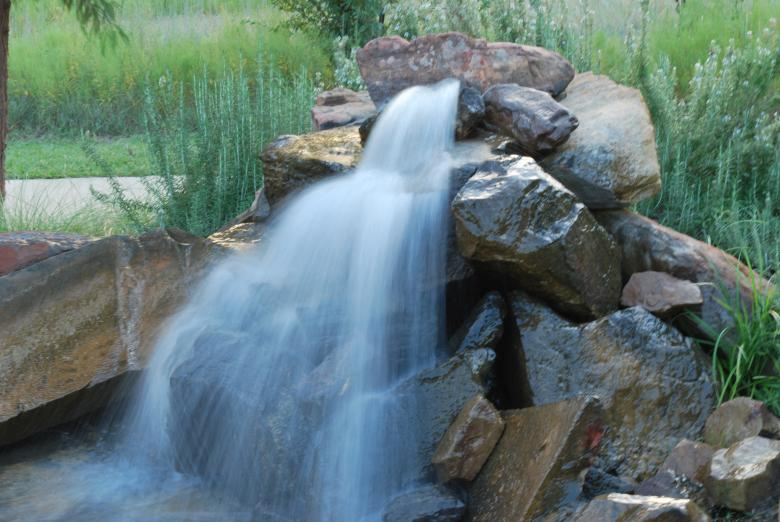 Free Stock Photo of Garden Waterfalls Created by kkDonut