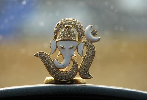 Lord Ganesha - Indian God - Free Stock Photo
