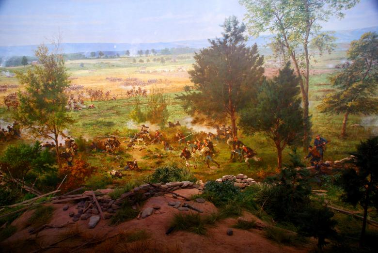 Free Stock Photo of Civil war painting Created by Jackie