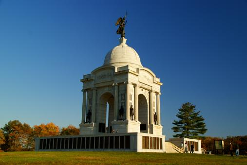 Gettysburg memorial - Free Stock Photo