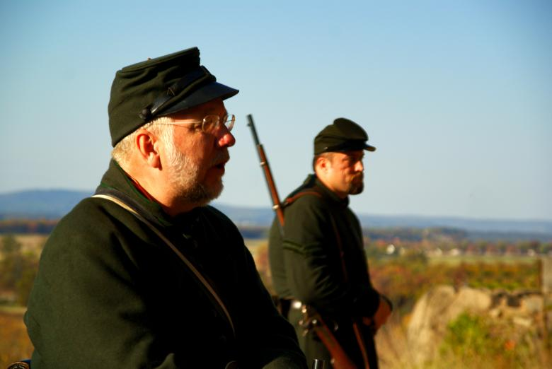 Free Stock Photo of Gettysburg sharp shooters Created by Jackie