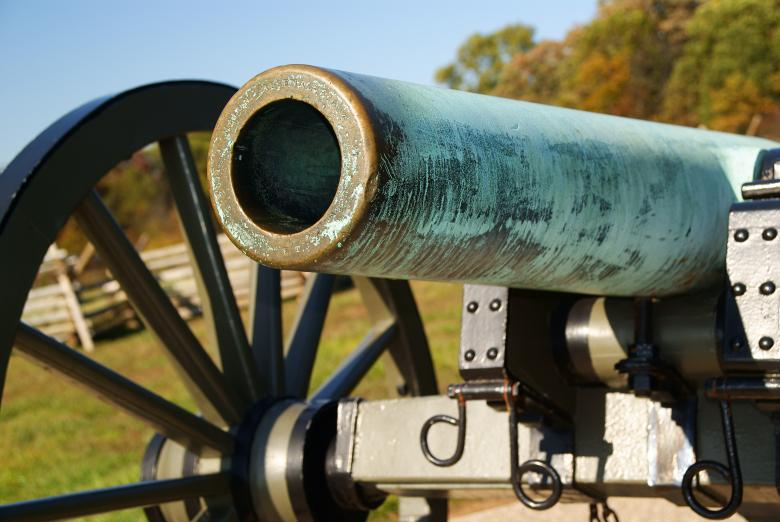 Free Stock Photo of Gettysburg Cannon Created by Jackie