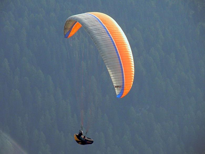 Free Stock Photo of Paraglider Created by Furio Franceschinel