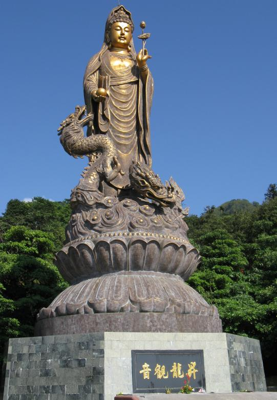 Free Stock Photo of Taiwanese Bronze Statue Created by Mary Mullan