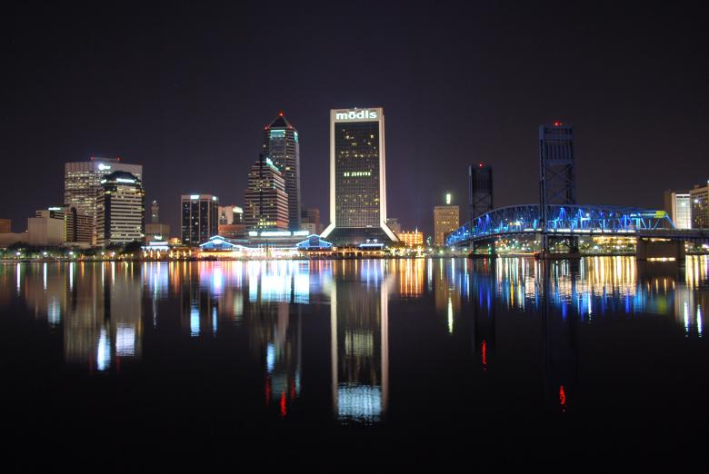 Free Stock Photo of Jacksonville, Florida Skyline Created by kkDonut