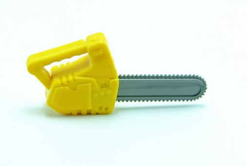 Plastic chainsaw - Free Stock Photo